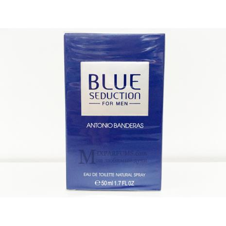 Antonio Banderas Blue Seduction For Men edt 50 ml m Туалетная Мужская